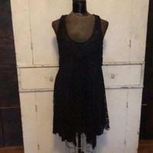 Free People Loose and Lacey Slip Dress